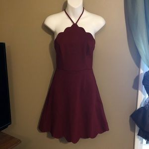 Maroon Semi-Formal Dress NWT